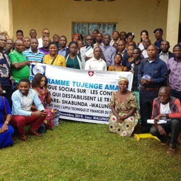 Dialogue Sociale sur les conflits et problèmes majeurs qui déstabilisent le territoire de Shabunda et walungu
